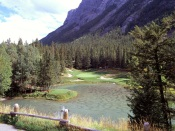 4th Hole, Banff Springs