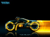 Tron Legacy - Lightcycle Yellow