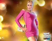 Grand Theft Auto 4, Woman in Pink