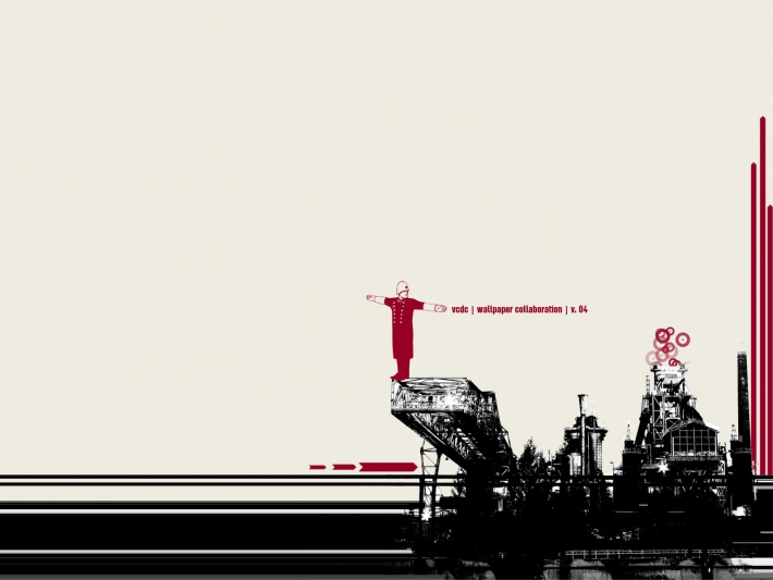Industrial (wallpaper collaboration)