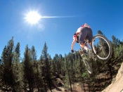Mountain Bike. Jump