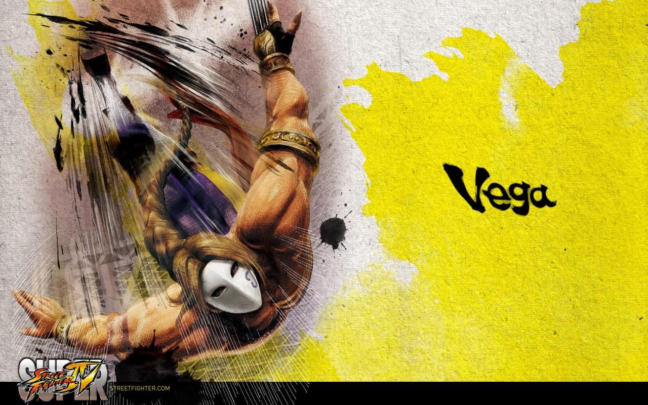 Street Fighter 4 Vega Games Desktop Hd Iphone Ipad Wallpapers