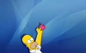 Apple Comic Homer Simpson