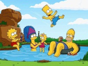 The Simpsons Family on Vacation
