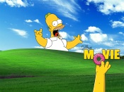The Simpsons Movie Windows XP wallpaper