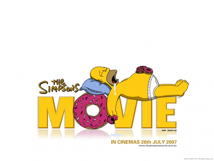 The Simpsons Movie, Logo