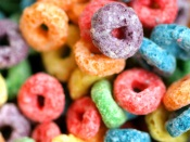 Colored Cornflakes