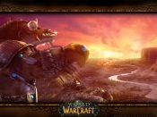 Tauren at Sunset - World Of WarCraft