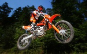 Motocross Orange KTM