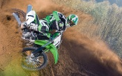 Motocross, Green Bike