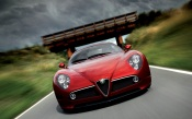 Amazing Red Alfa Romeo
