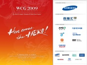 WCG 2009 Red Samsung