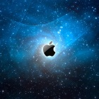 Apple Logo in The Space