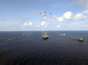 Naval Fleet and Aircrafts