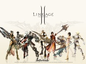 Lineage II - orcs, humans, dark elves and elves