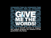 Give me the words - helping children