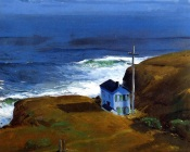 George Bellows, Shore House, 1911 Private Collection