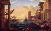 Claude Lorrain, The Embarkation Of The Queen Of Sheba, 1648, London, National Gallery