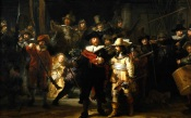 Rembrandt, The Night Watch, 1641, Amsterdam, Rijksmuseum