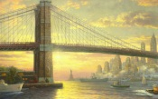 The Spirit of New York, Thomas Kinkade
