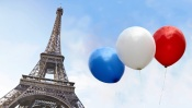 Balloons and the Eiffel Tower