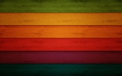 Colorful Wooden Strips