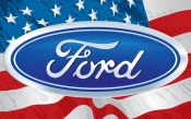 Ford Logo (US Flag)