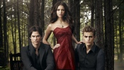 The Vampire Diaris, Nina Dobrev, Paul Wesley, Ian Somerhalder