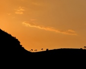 Sunset - Mountain Silhouette