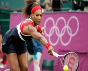 Serena Williams on Olympic Games, London, UK